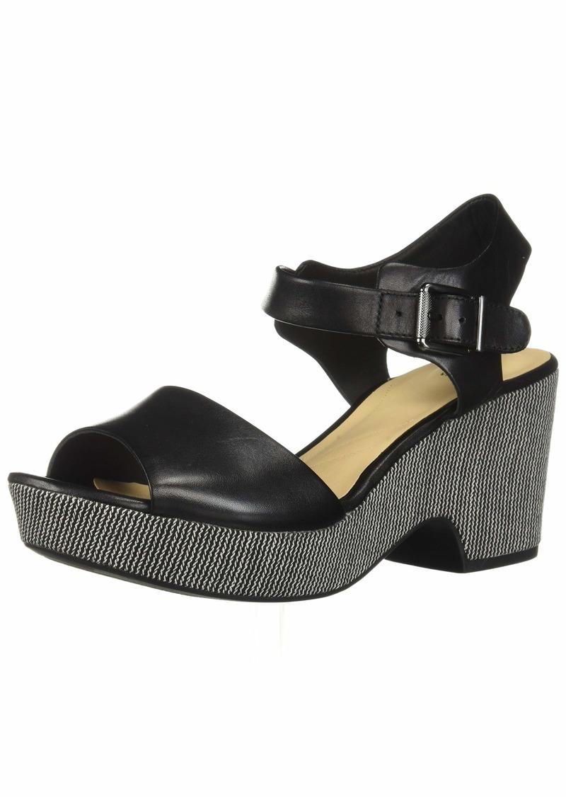 CLARKS Women's Maritsa Janna Wedge Sandal  0 M US