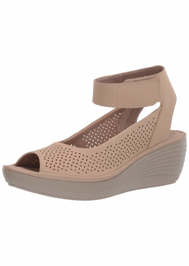 Clarks Women's Reedly Jump Wedge Sandal