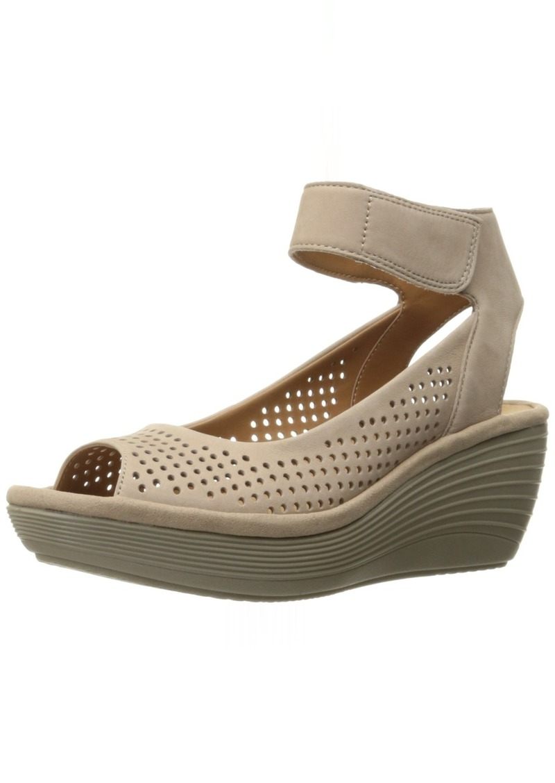 Clarks Women's Reedly Salene Wedge Sandal   M US