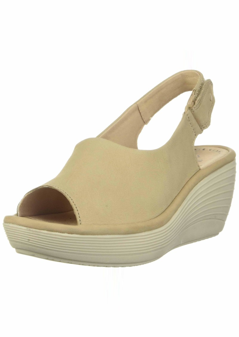 Clarks Women's Reedly Shaina Wedge Sandal  00 M US
