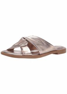 Clarks Women's Reyna Twist Flat Sandal