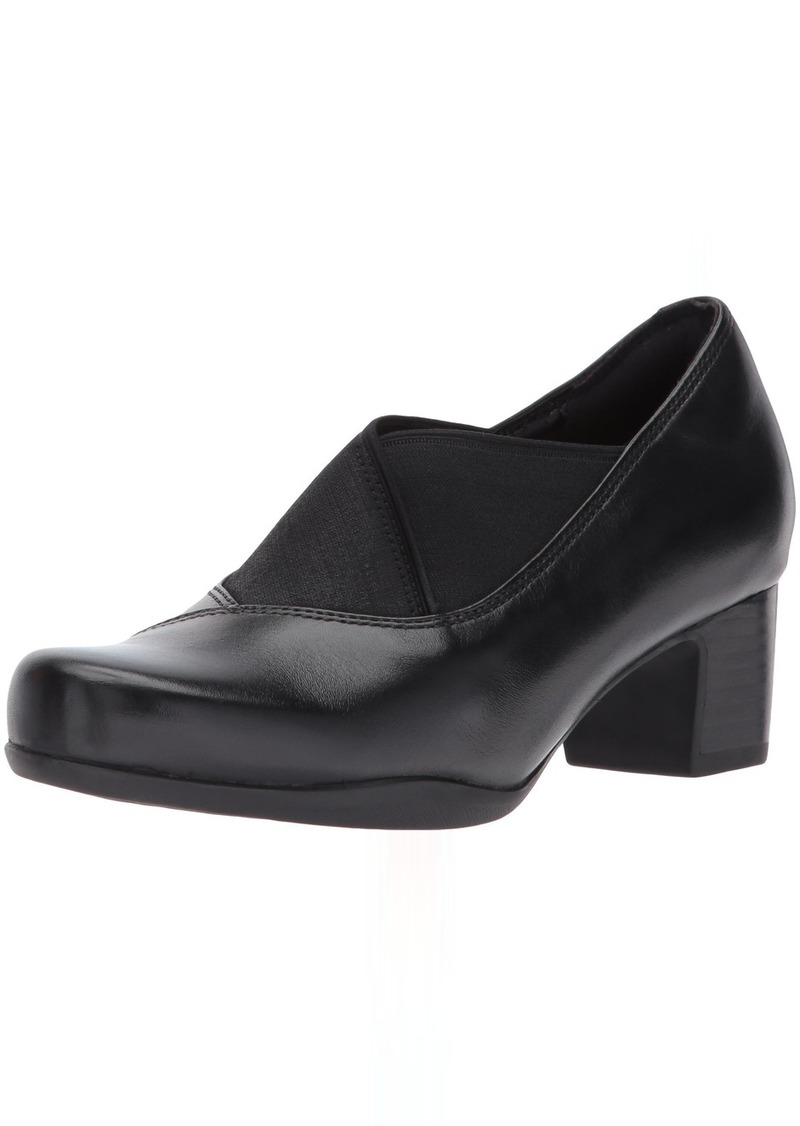 Clarks Women's Rosalyn Olivia Slip-on Loafer  7 W US