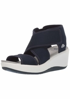 CLARKS Women's Step Cali Palm Sandal  060 W US