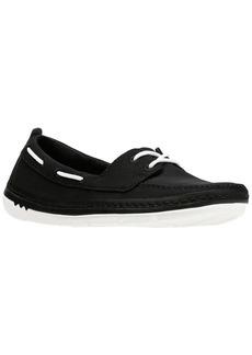 CLARKS Women's Step Maro Sand Boat Shoe   Medium US