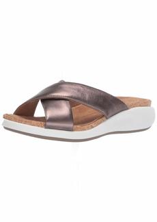 CLARKS Women's Un Bali Go Slide Sandal   M US