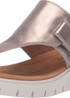 CLARKS Women's Un Karely Sea Sandal  90 W US