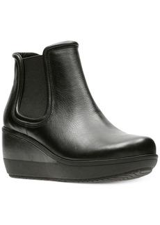 Clarks Women's Wynnmere Mara Wedge Booties Women's Shoes