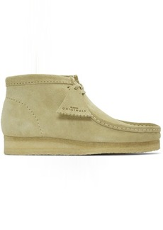Clarks Grey Suede Wallabee Boots