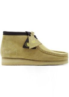Clarks Tan Wu Wear Edition Suede Wallabee Boots