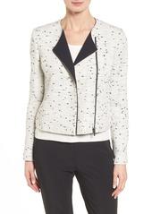 Classiques Entier® Asymmetric Zip Collarless Jacket