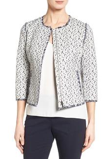 Classiques Entier® Fringe Tweed Jacket
