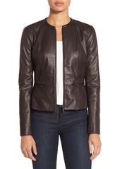 Classiques Entier® Leather & Knit Jacket
