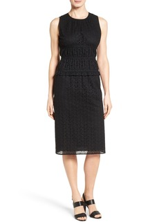 Classiques Entier® Smocked Eyelet Sheath Dress