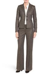 Classiques Entier® Two-Button Tweed Suit Jacket (Regular & Petite)