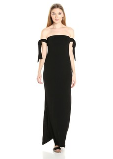 CLAYTON Women's Gemma Off The Shoulder Maxi Dress