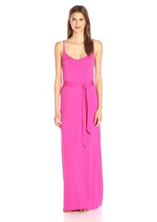 CLAYTON Women's Geri Tie-Waist Maxi Dress