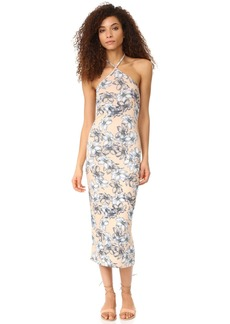 CLAYTON Women's Maliya Print Midi Dress