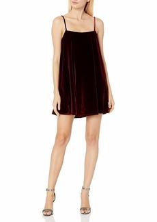 CLAYTON Women's Velvet Gabe Dress  M