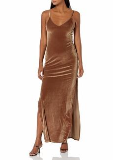 CLAYTON Women's Velvet Lennox Dress  L