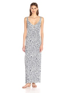 CLAYTON Women's Zyana V Neck Printed Maxi Dress
