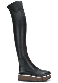 Clergerie Basilia platform thigh-high boots