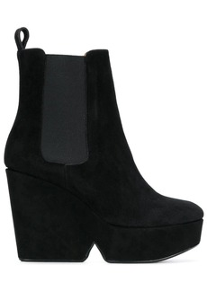 Clergerie Beatrice wedge boots