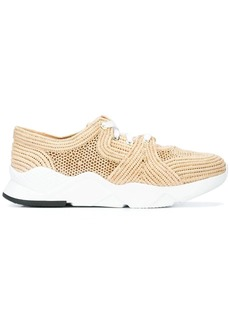 Clergerie cut-out detail sneakers