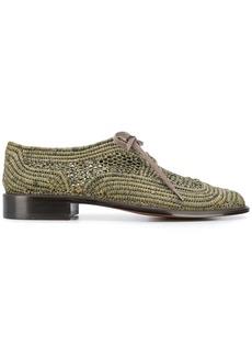 Clergerie paille lace up shoes