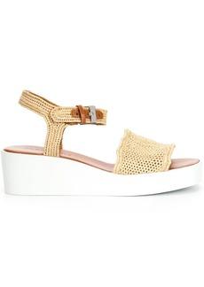 Clergerie Sally wedge-heel sandals