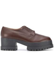 Clergerie Wonnie platform lace-up shoes
