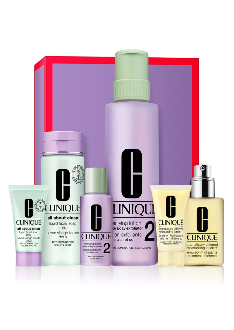 Clinique Great Skin Everywhere Home & Away Set for Very Dry to Dry Combination Skin Types (USD $96.50 Value)