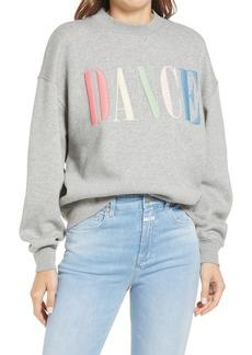 Women's Closed Dance Embroidered Sweatshirt