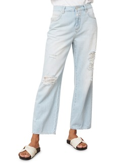 Women's Closed Gill Ripped Straight Leg Jeans