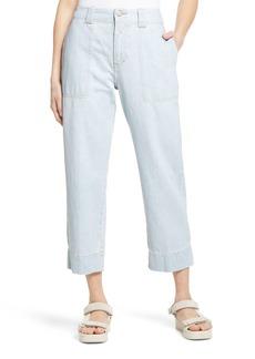 Women's Closed Josy High Waist Crop Jeans