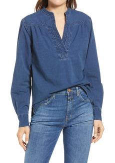Women's Closed Nyssa Cotton Denim Popover Top