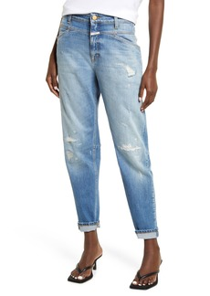Women's Closed X-Lent Relaxed Tapered Leg Ankle Jeans
