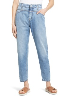 Women's Closed X-Lent Relaxed Tapered Leg Crop Jeans
