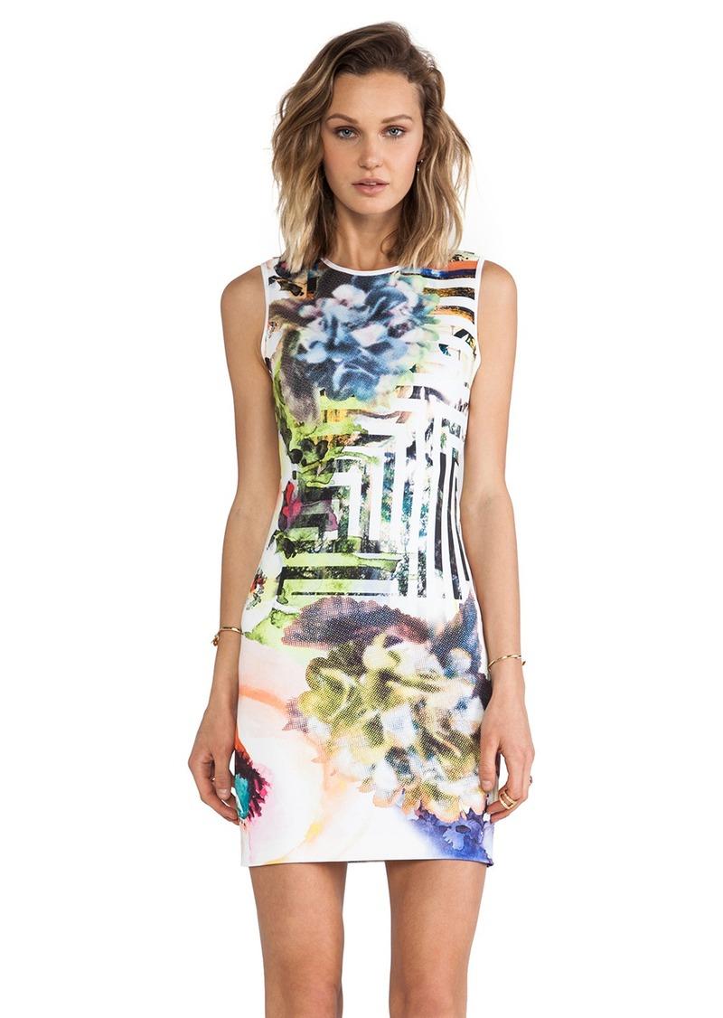 Clover Canyon Floral Maze Neoprene Dress