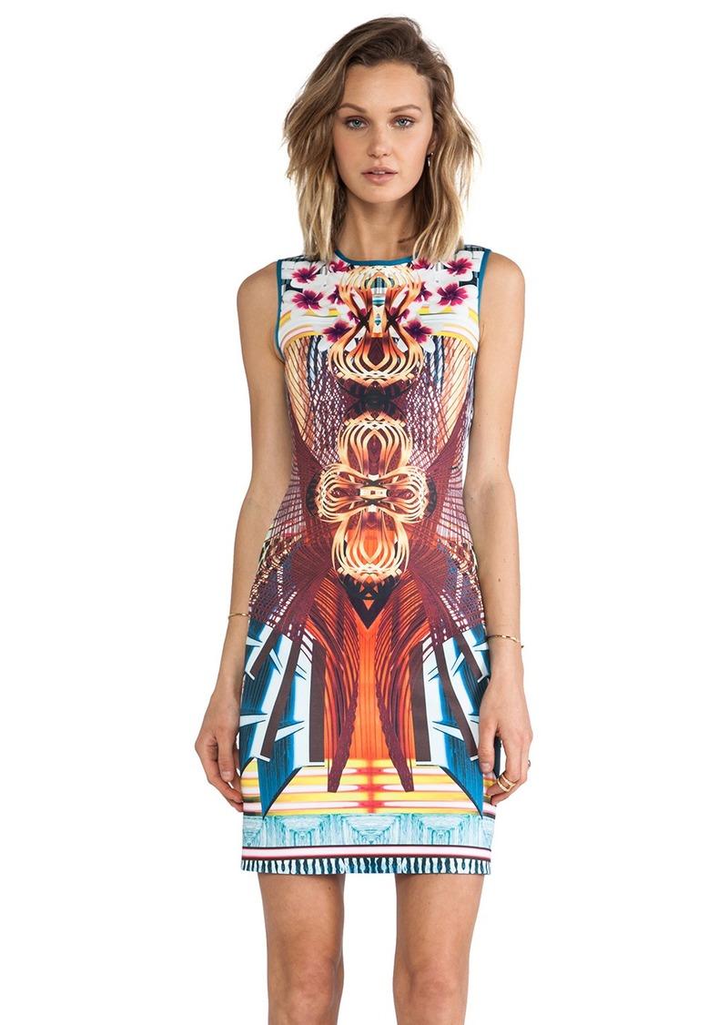 Clover Canyon Furniture Weave Neoprene Dress