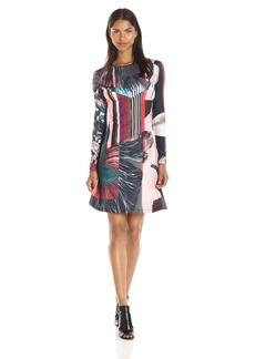 Clover Canyon Sportswear Women's Autumn Stripe Dress