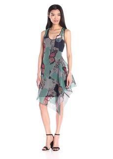 Clover Canyon Sportswear Women's Butterfly Garden Mesh Dress