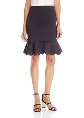Clover Canyon Sportswear Women's Neoprene Skirt