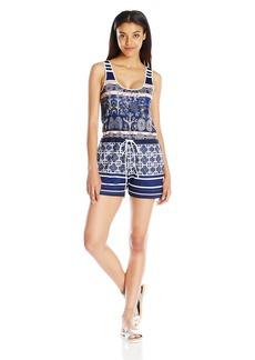 Clover Canyon Sportswear Women's Matte Jersey Romper