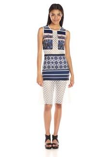 Clover Canyon Sportswear Women's Neoprene / Lace Dress
