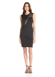 Clover Canyon Sportswear Women's Sold Neoprene Dress