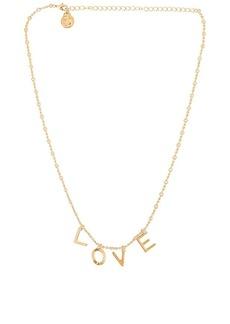 Cloverpost Code Words LOVE Necklace
