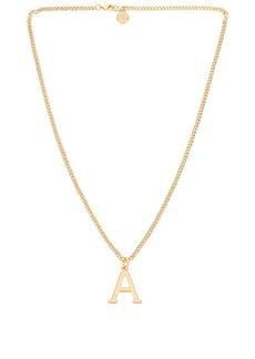 Cloverpost Serif Necklace