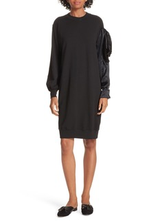 Clu Asymmetric Sweatshirt Dress