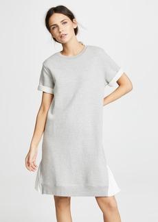 Clu Asymmetrical Dress with Contrast Ruffles