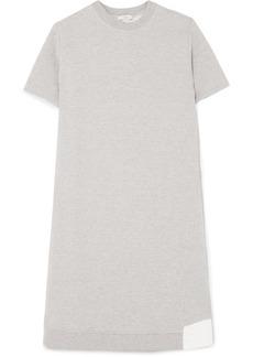 Clu Paneled Cotton-blend Jersey And Mesh Dress